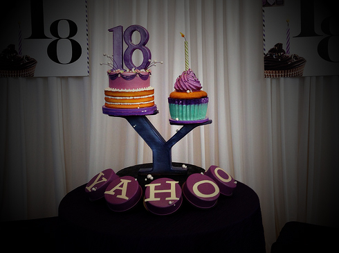 Yahoo 18 years
